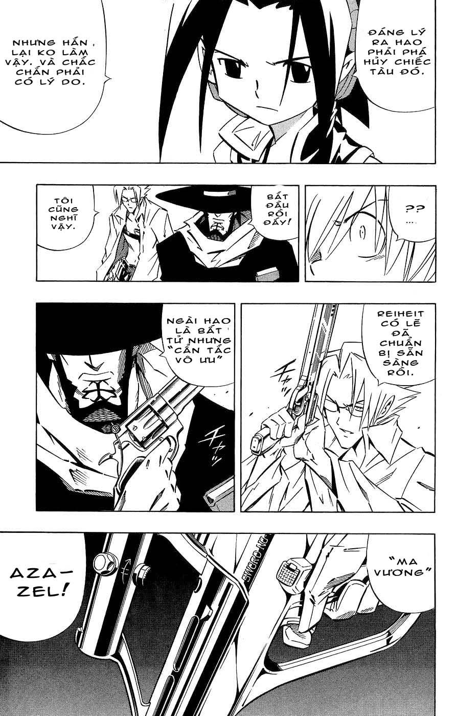 Shaman King [Vua pháp thuật] chap 262 trang 11