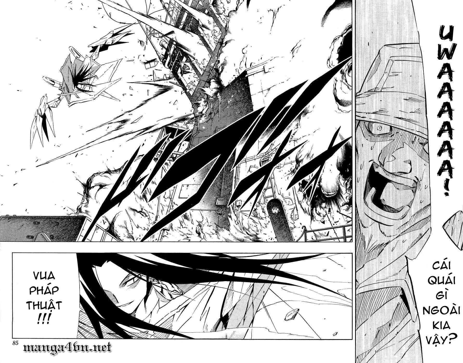 Shaman King [Vua pháp thuật] chap 261 trang 14