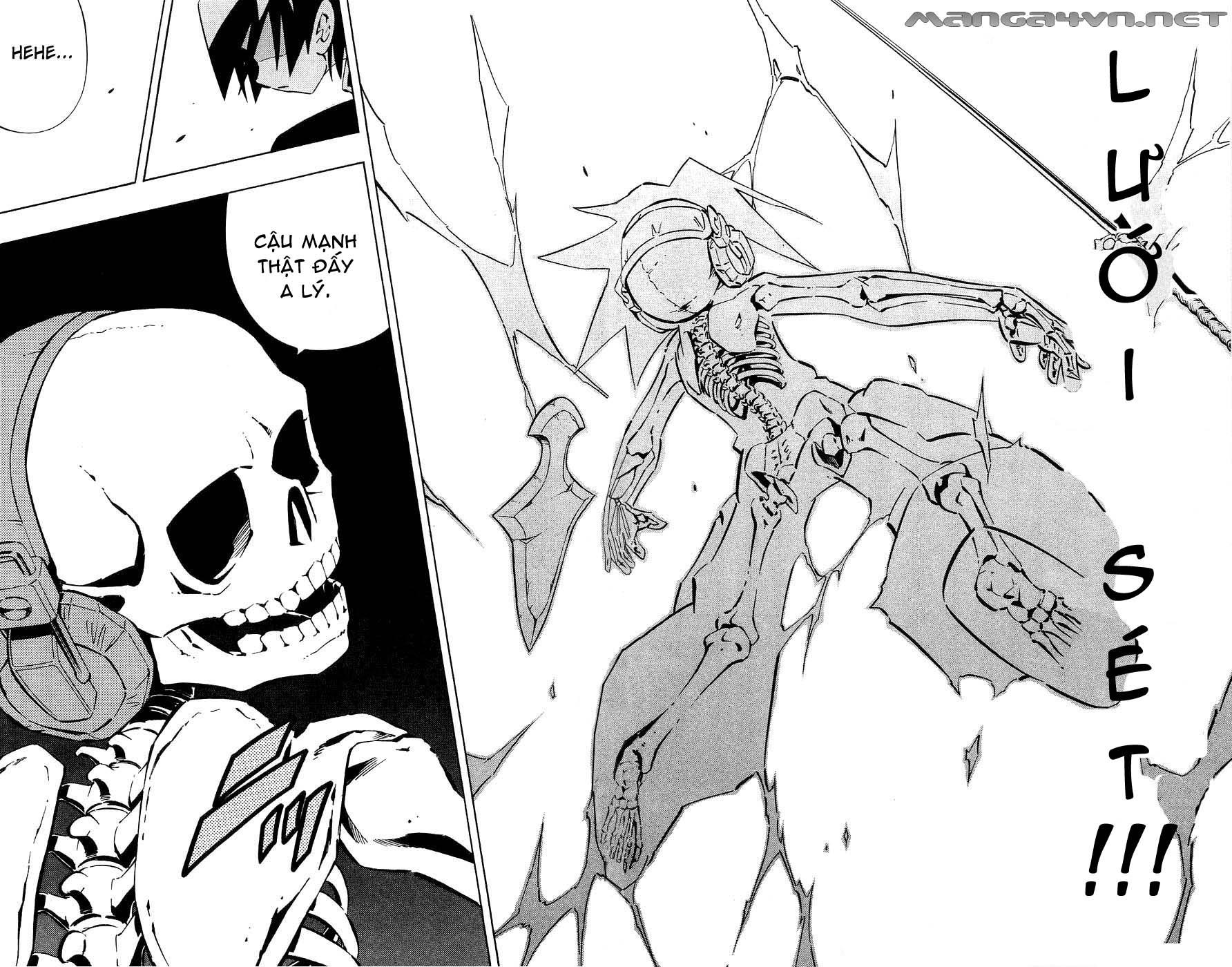 Shaman King [Vua pháp thuật] chap 255 trang 16
