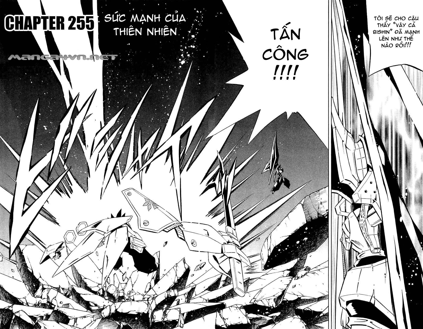 Shaman King [Vua pháp thuật] chap 255 trang 2