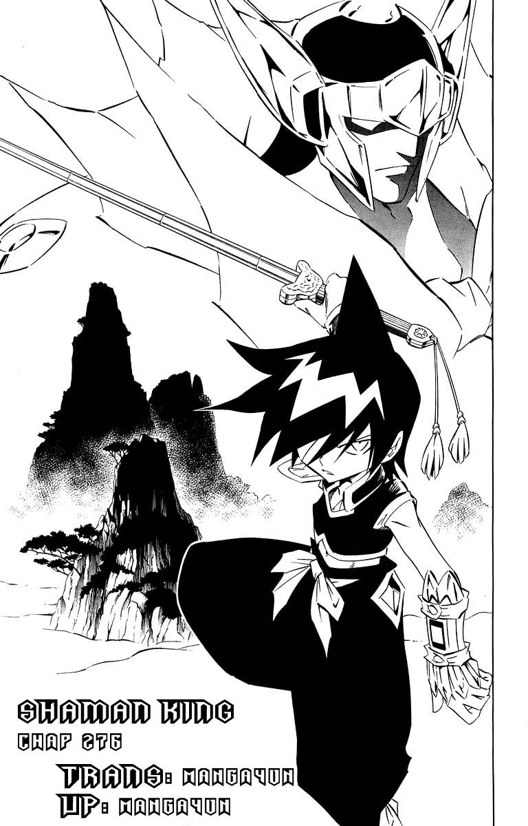Shaman King [Vua pháp thuật] chap 276 trang 20
