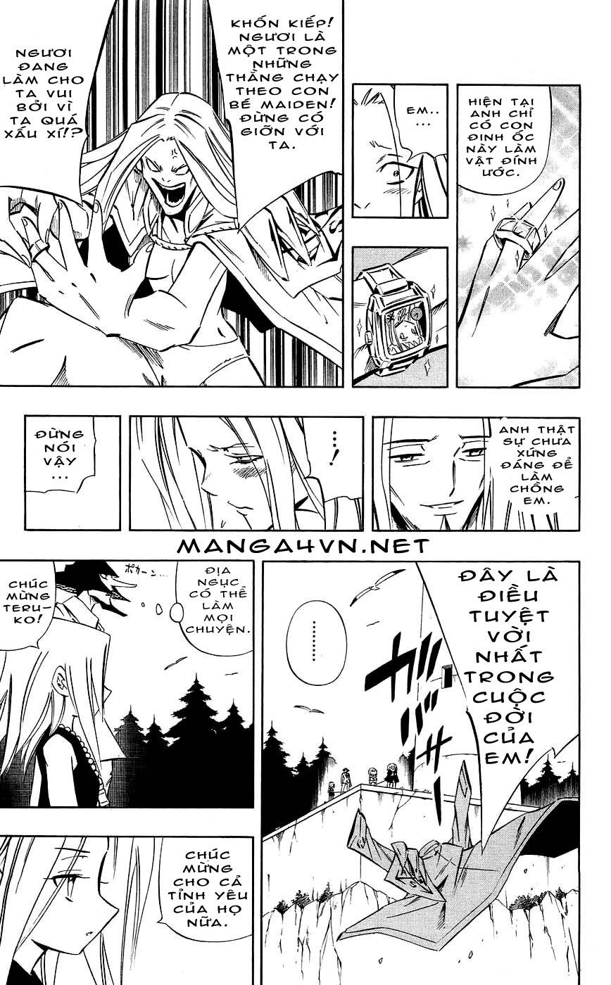 Shaman King [Vua pháp thuật] chap 270 trang 7