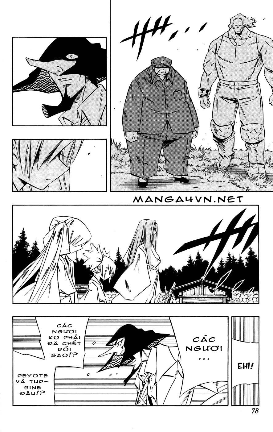Shaman King [Vua pháp thuật] chap 270 trang 12