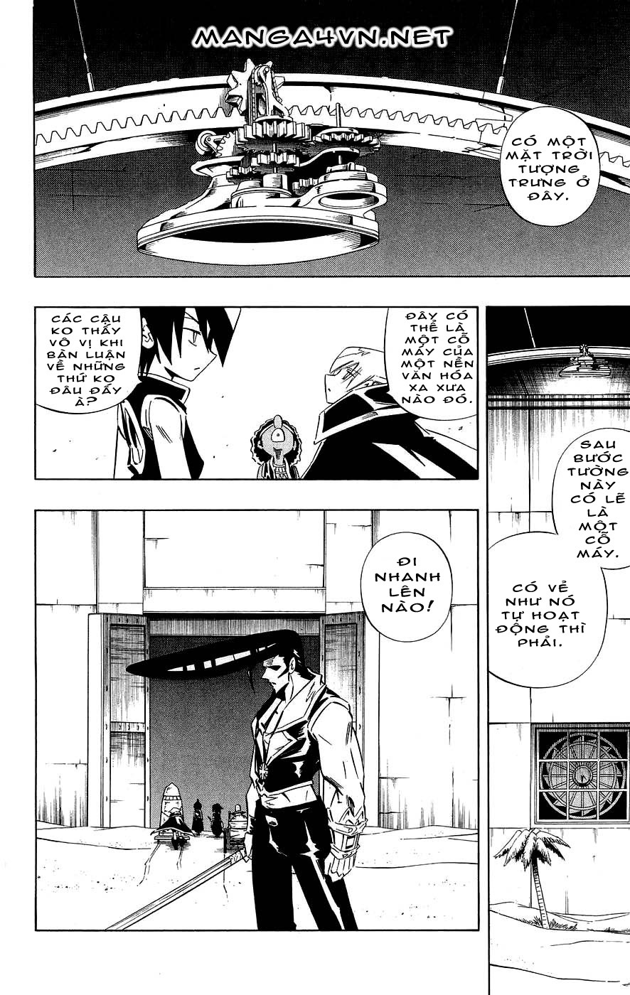 Shaman King [Vua pháp thuật] chap 270 trang 14