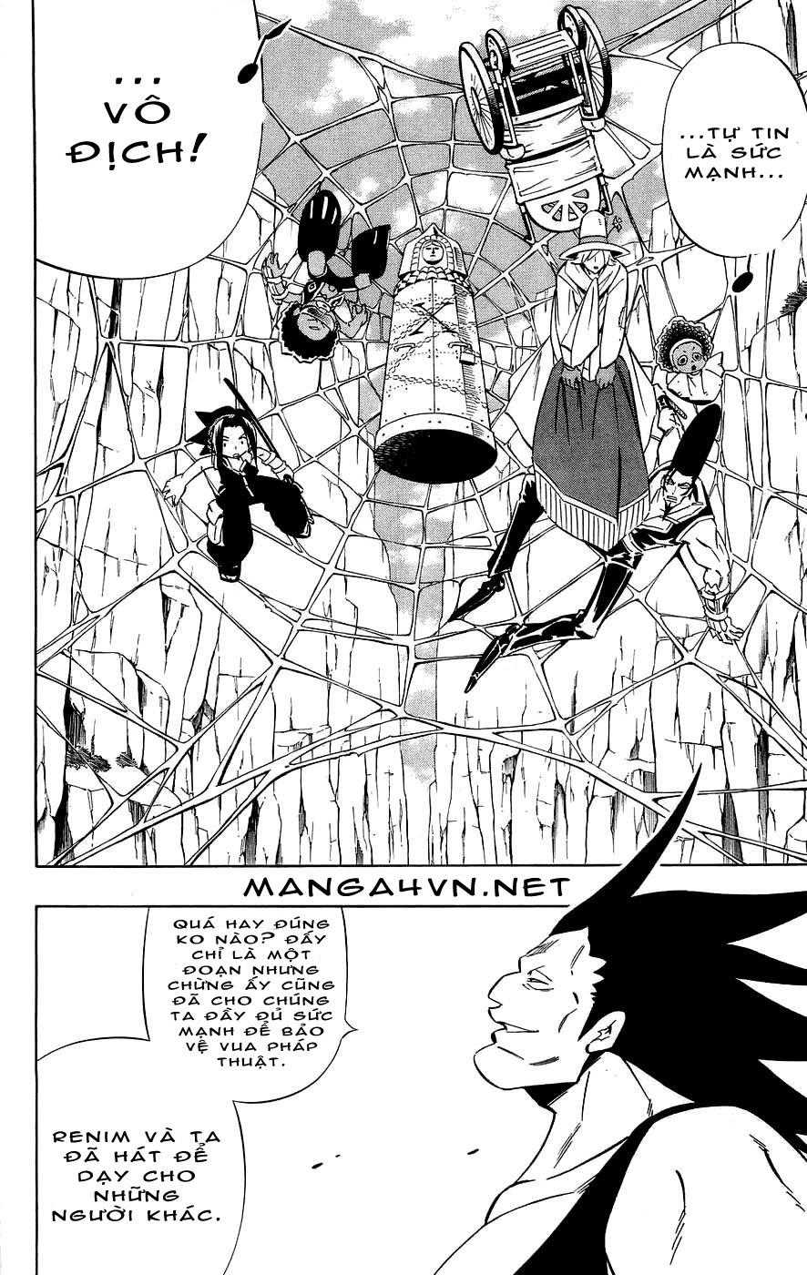 Shaman King [Vua pháp thuật] chap 272 trang 10