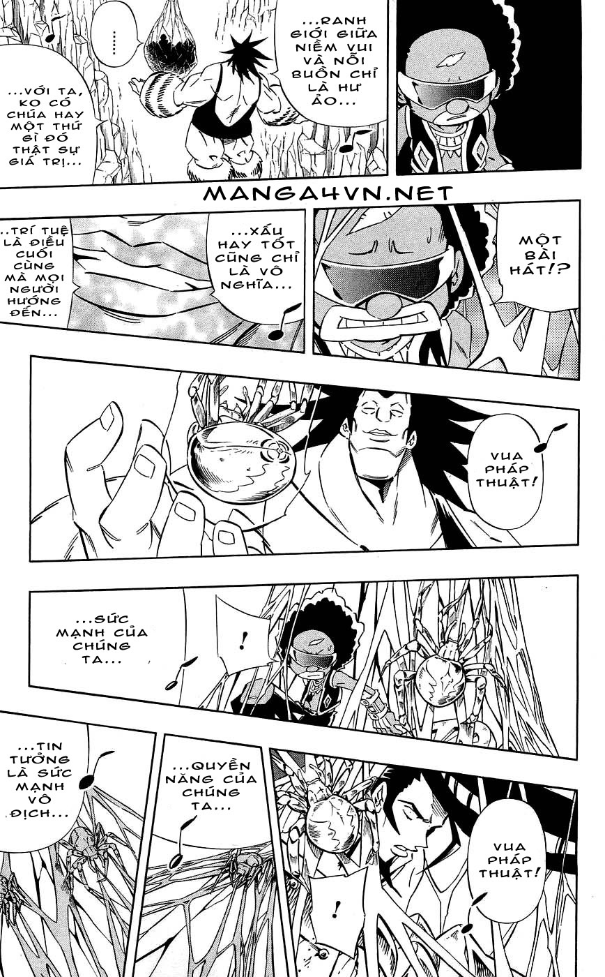 Shaman King [Vua pháp thuật] chap 272 trang 9
