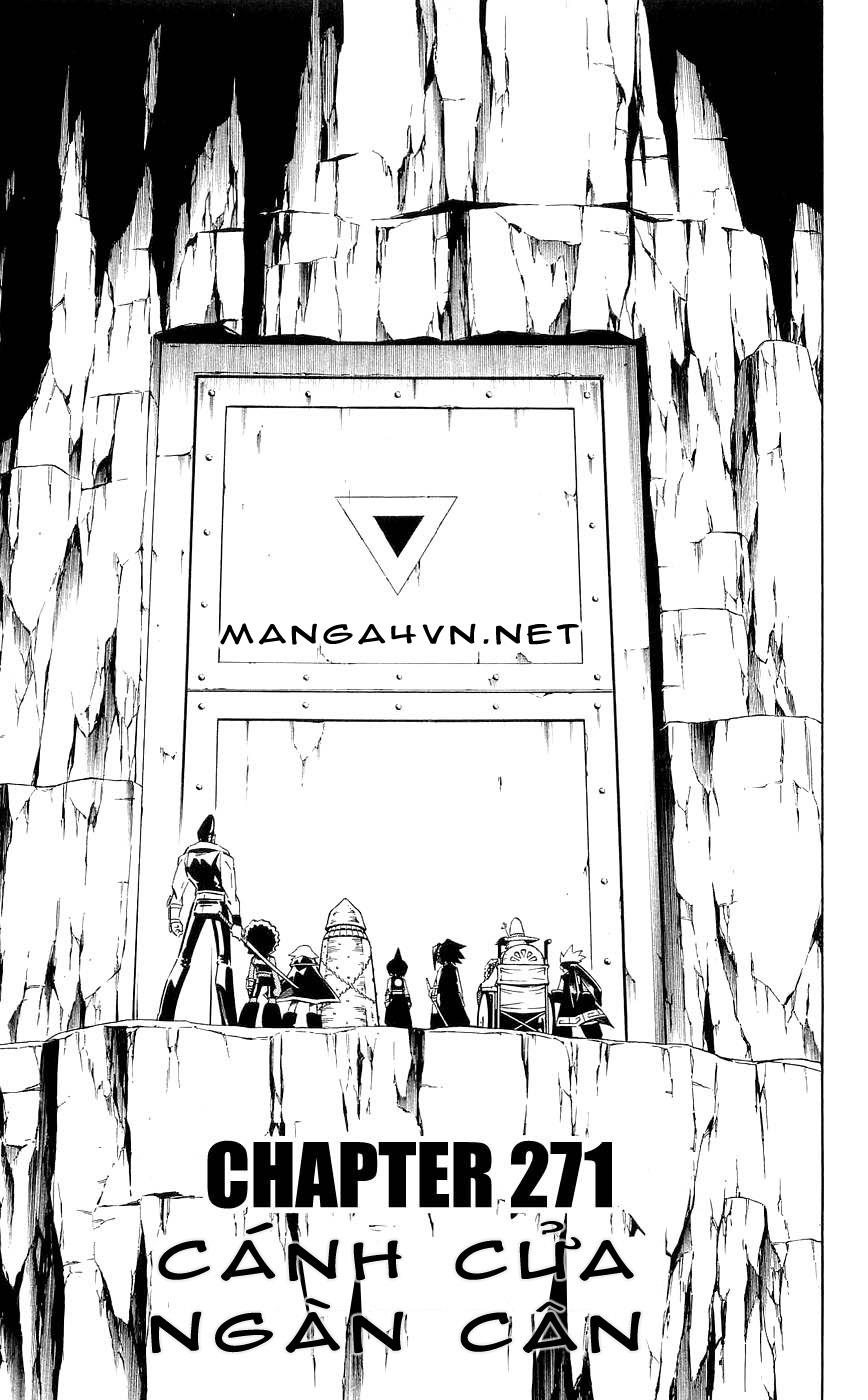 Shaman King [Vua pháp thuật] chap 271 trang 3
