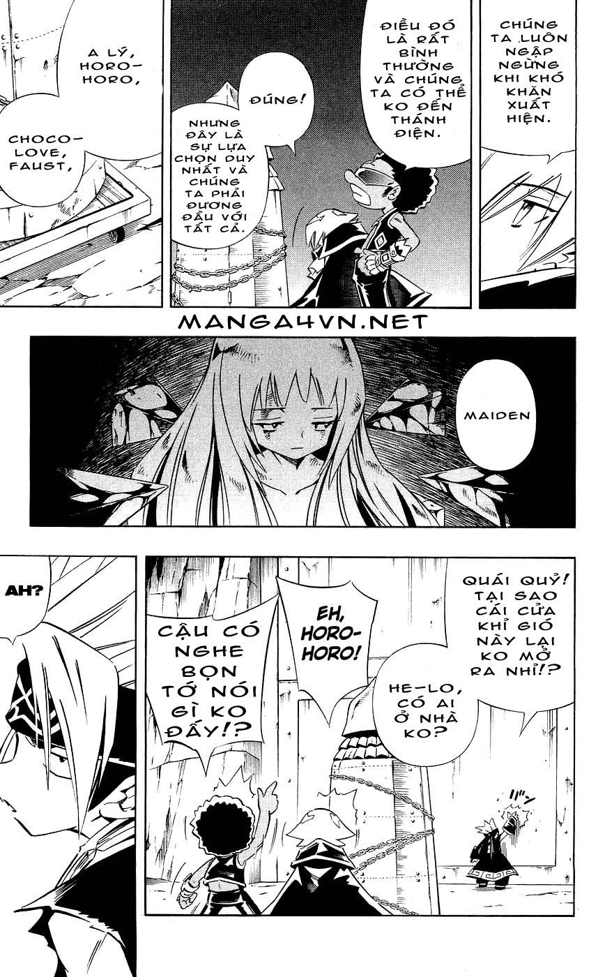 Shaman King [Vua pháp thuật] chap 271 trang 5