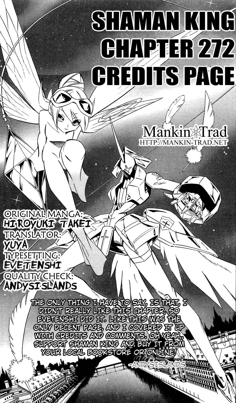 Shaman King [Vua pháp thuật] chap 272 trang 18