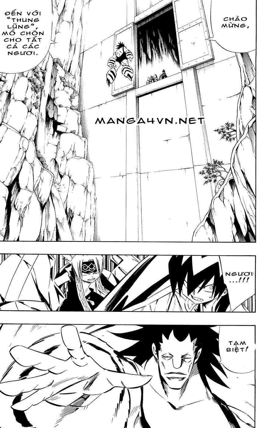 Shaman King [Vua pháp thuật] chap 271 trang 9