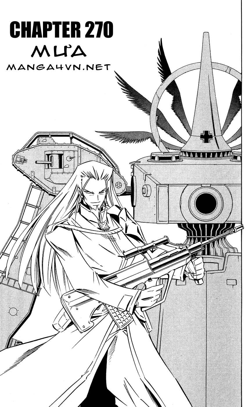 Shaman King [Vua pháp thuật] chap 270 trang 3