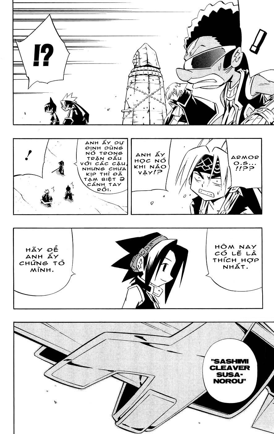 Shaman King [Vua pháp thuật] chap 268 trang 4