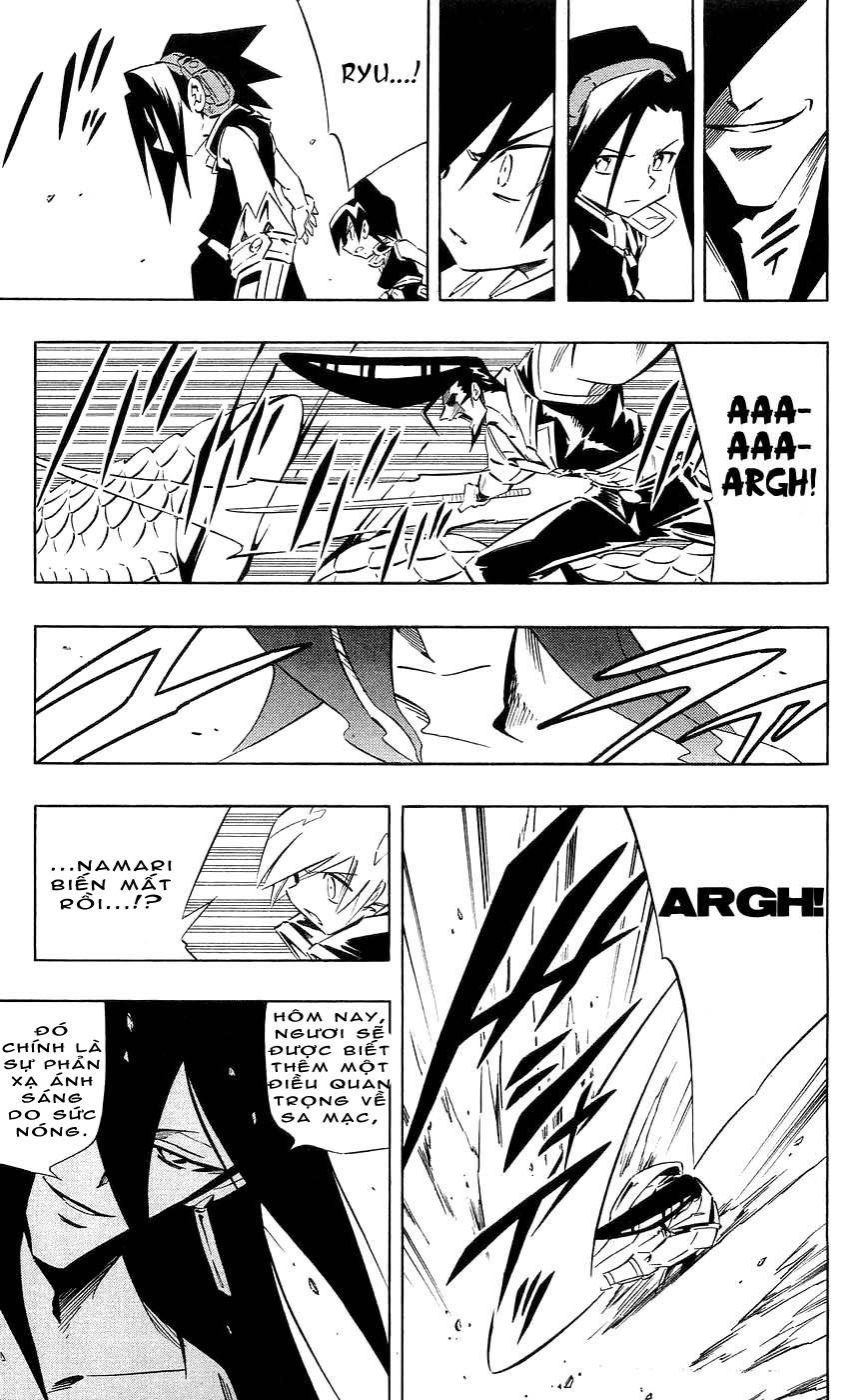 Shaman King [Vua pháp thuật] chap 268 trang 9
