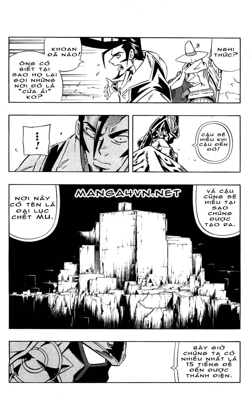 Shaman King [Vua pháp thuật] chap 267 trang 7