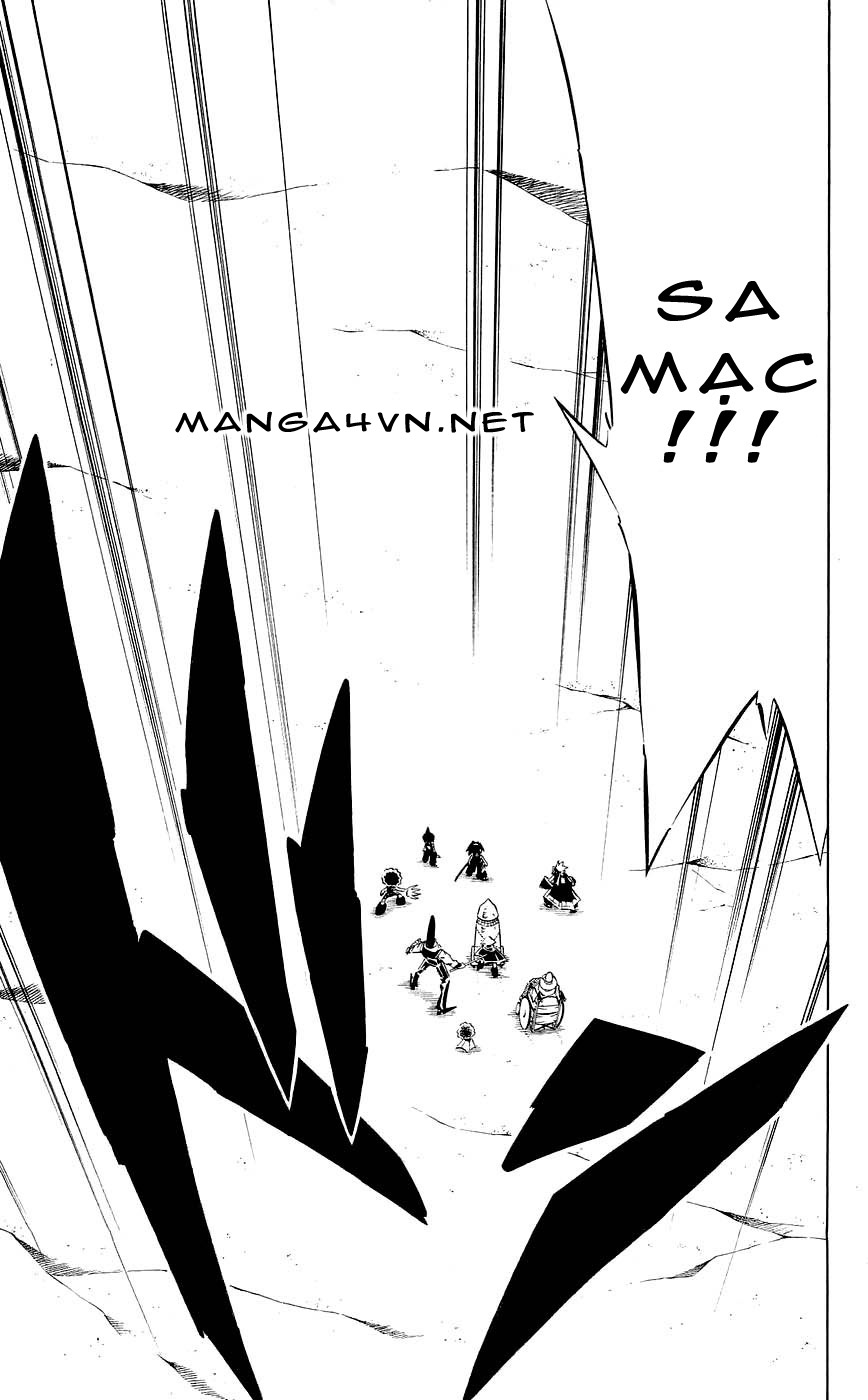 Shaman King [Vua pháp thuật] chap 267 trang 11