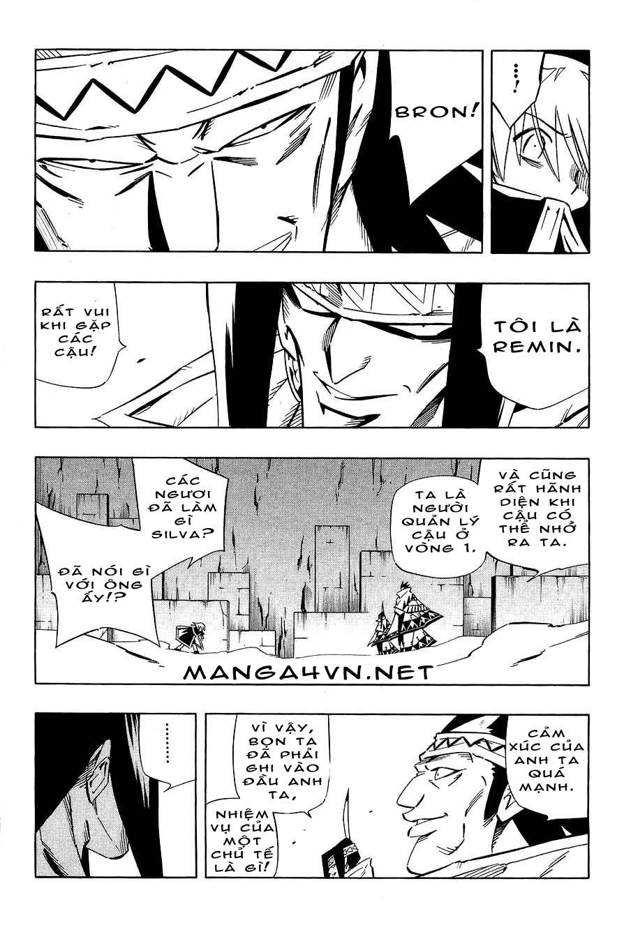 Shaman King [Vua pháp thuật] chap 266 trang 13