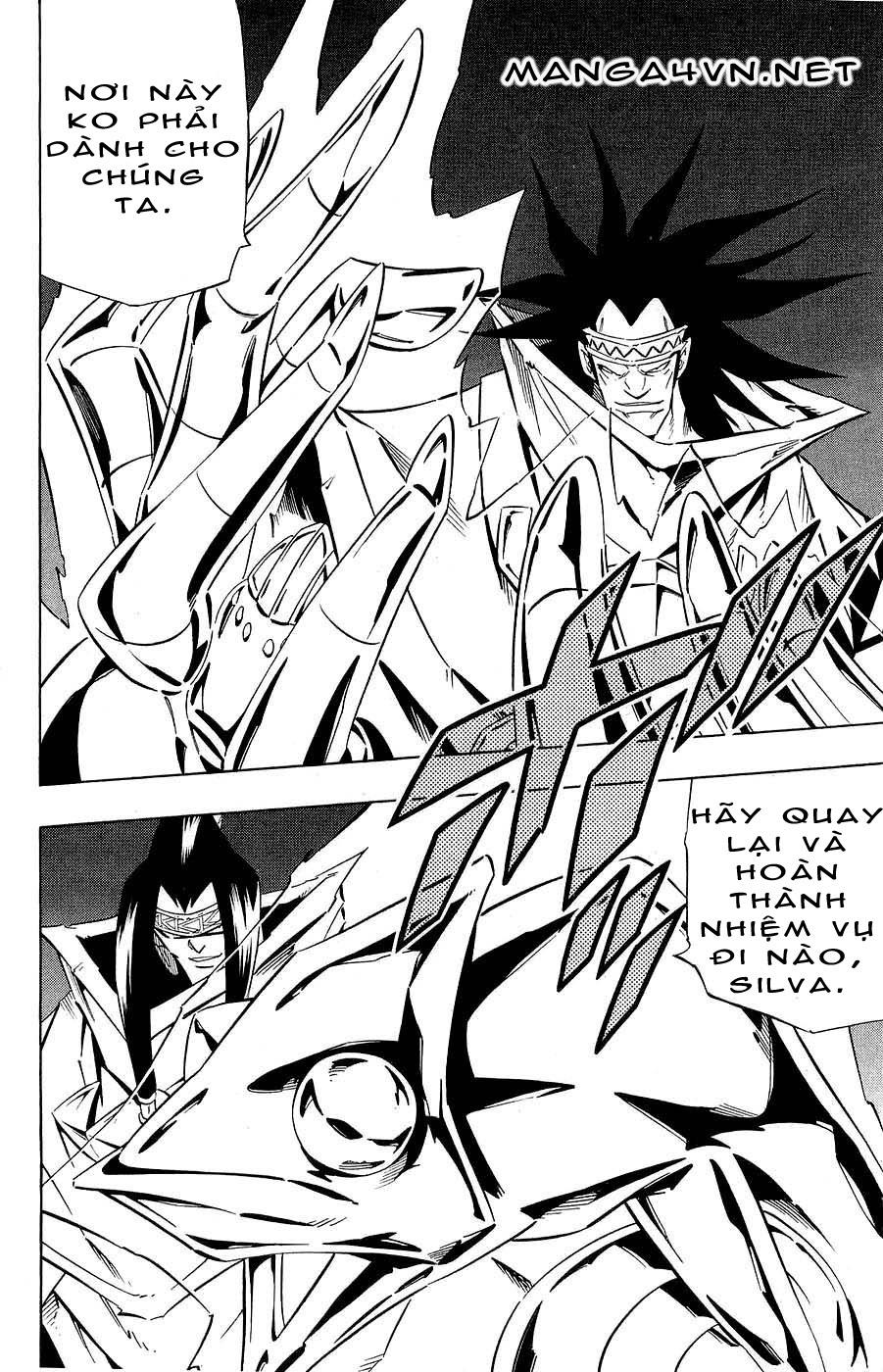 Shaman King [Vua pháp thuật] chap 266 trang 12