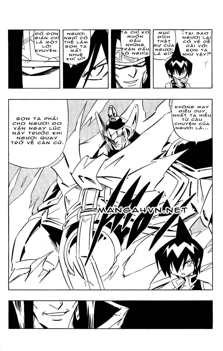 Shaman King [Vua pháp thuật] chap 266 trang 16