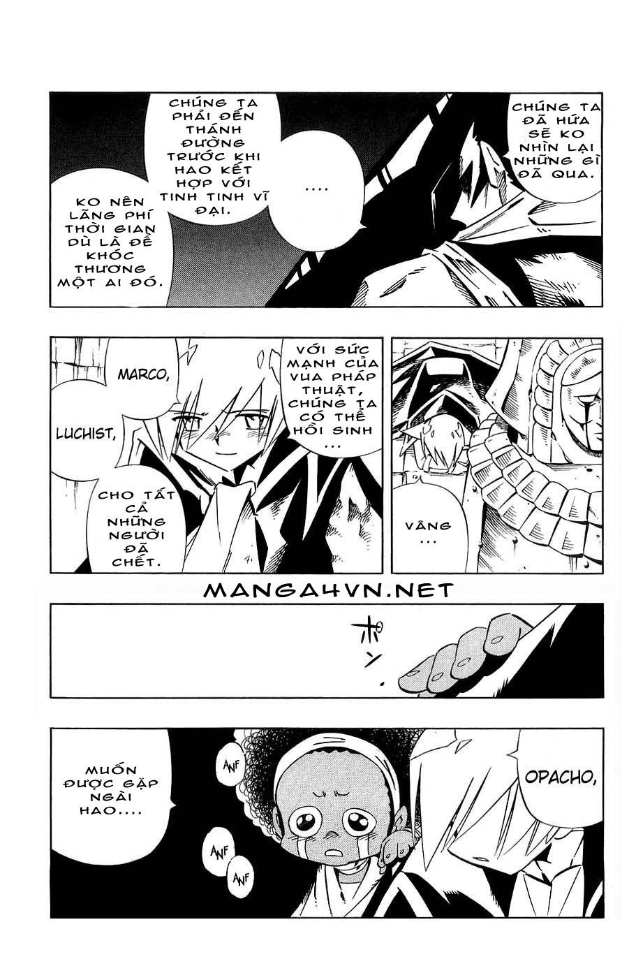 Shaman King [Vua pháp thuật] chap 265 trang 5