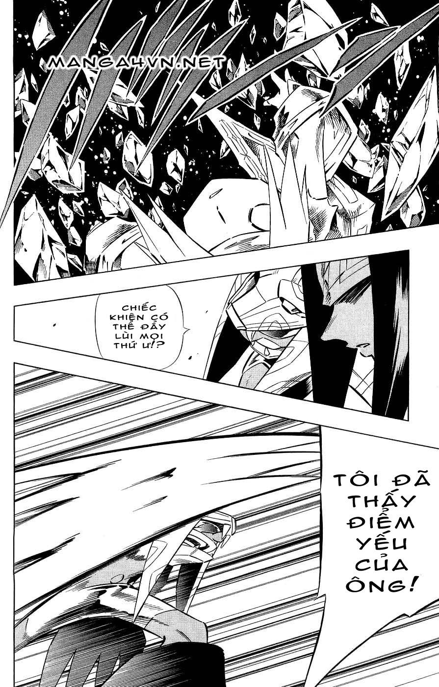 Shaman King [Vua pháp thuật] chap 265 trang 12