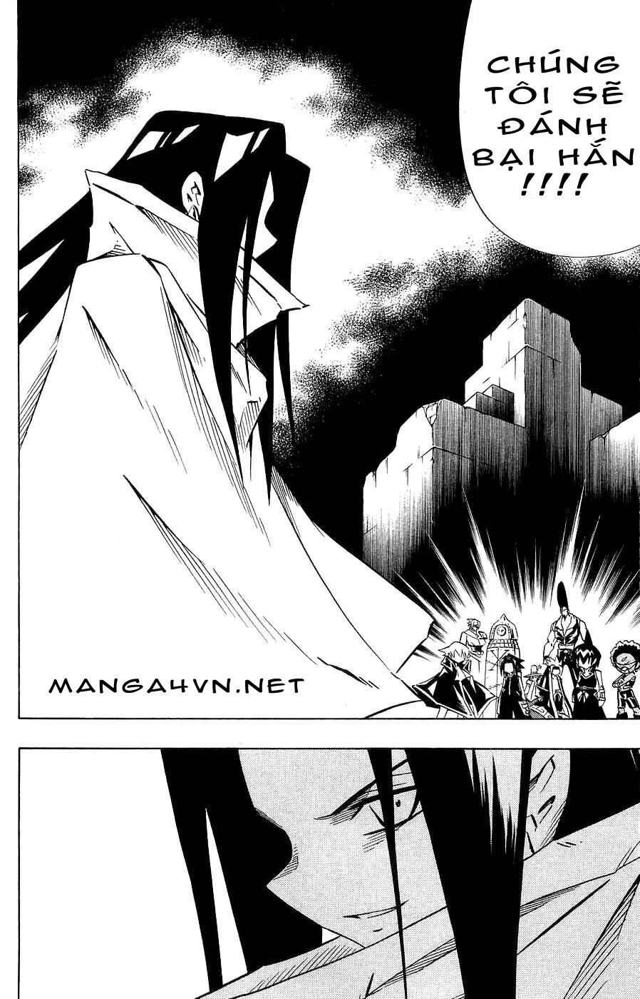 Shaman King [Vua pháp thuật] chap 264 trang 10