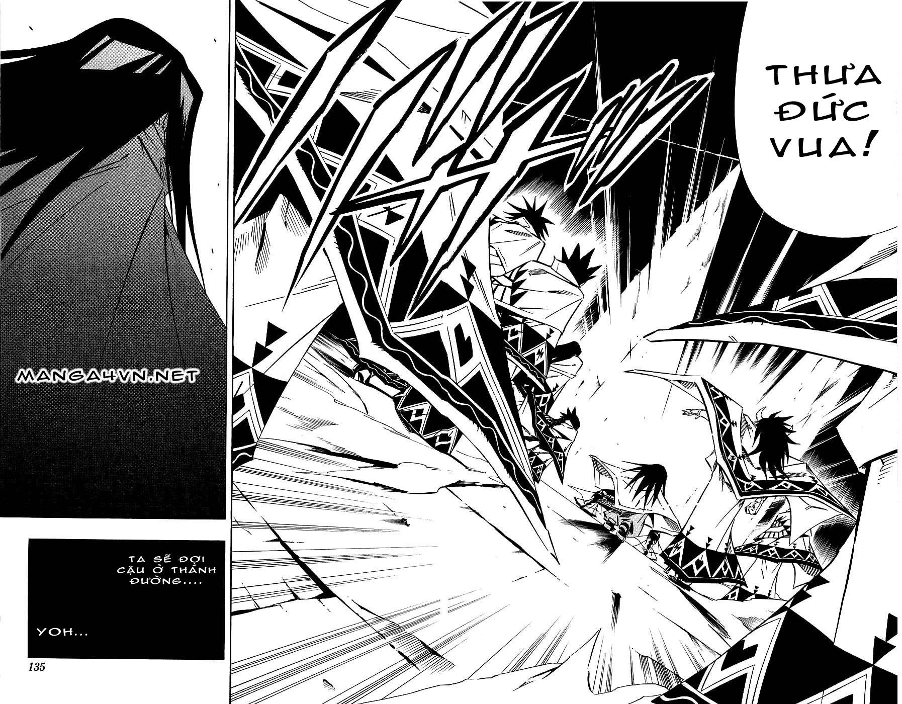 Shaman King [Vua pháp thuật] chap 264 trang 12