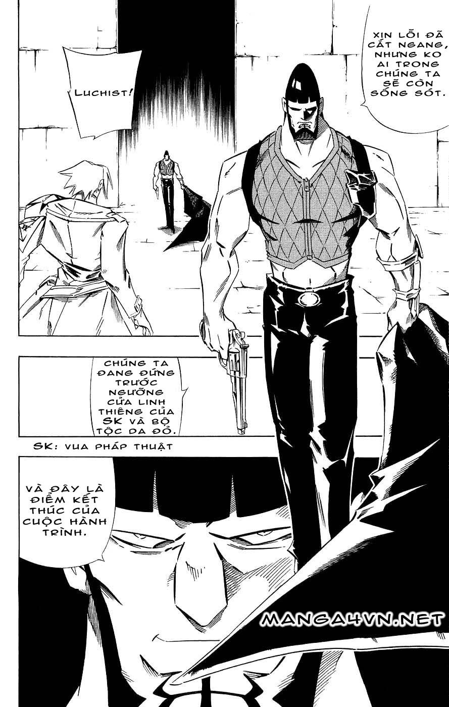 Shaman King [Vua pháp thuật] chap 264 trang 15