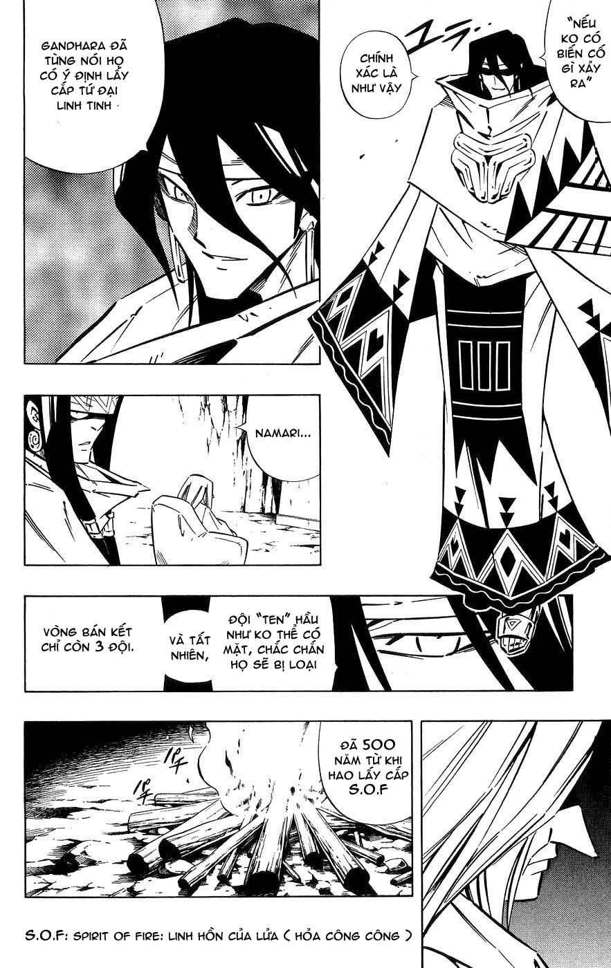 Shaman King [Vua pháp thuật] chap 256 trang 16