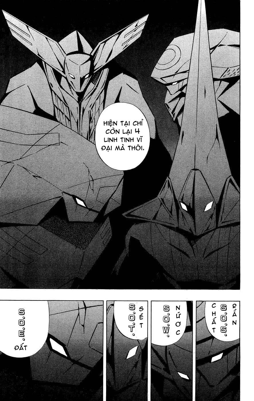 Shaman King [Vua pháp thuật] chap 256 trang 17