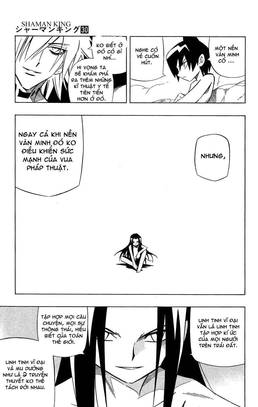 Shaman King [Vua pháp thuật] chap 259 trang 7