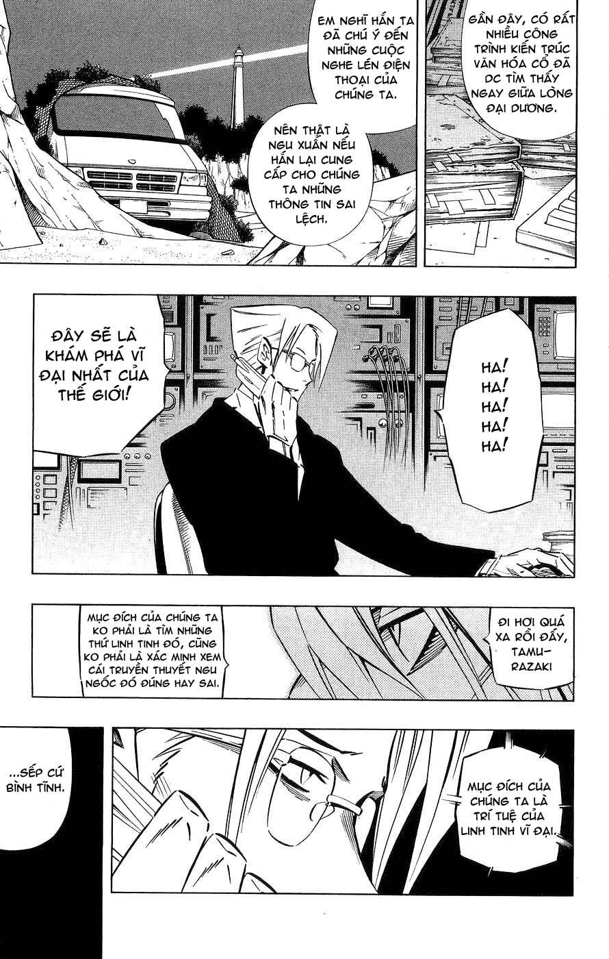 Shaman King [Vua pháp thuật] chap 259 trang 12
