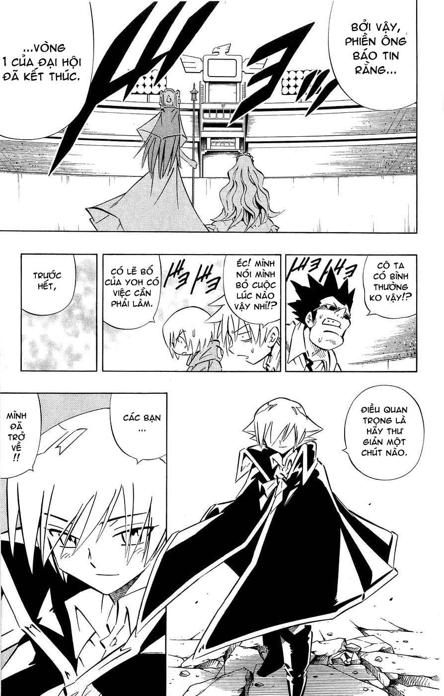 Shaman King [Vua pháp thuật] chap 257 trang 11