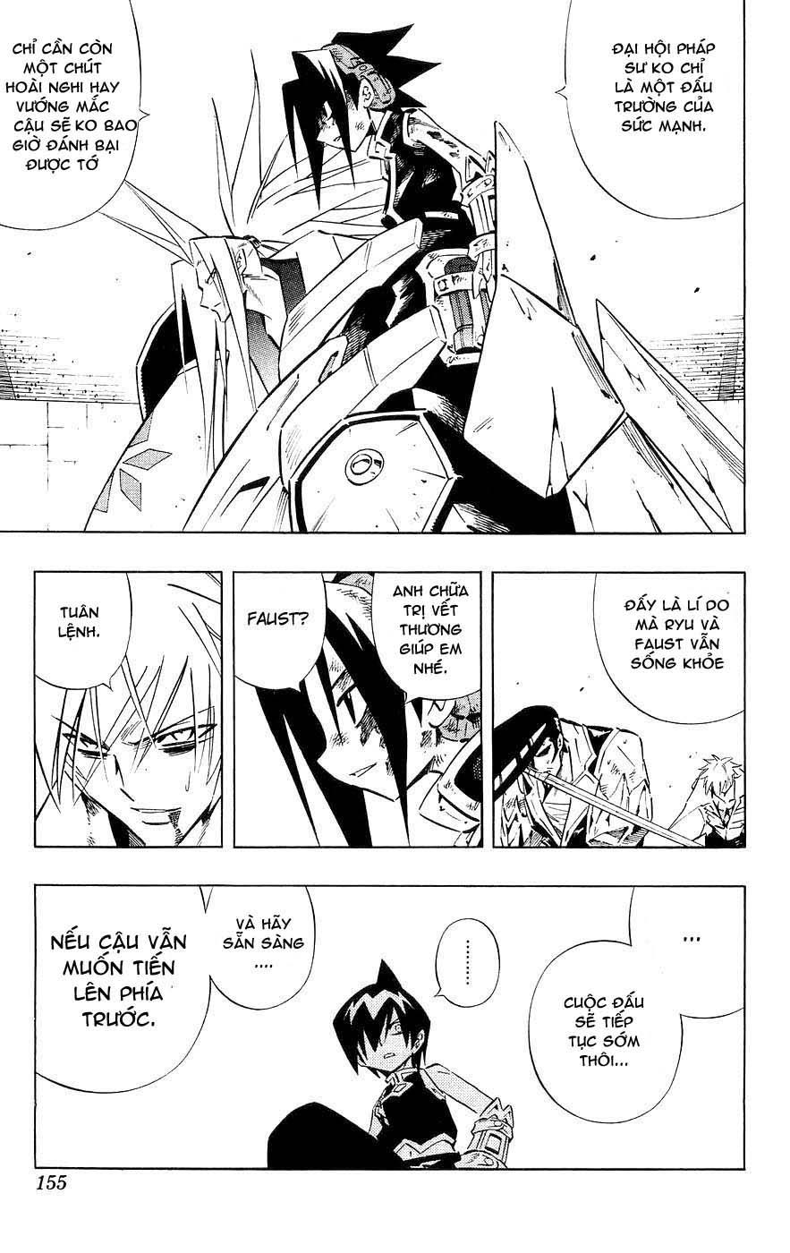 Shaman King [Vua pháp thuật] chap 256 trang 9