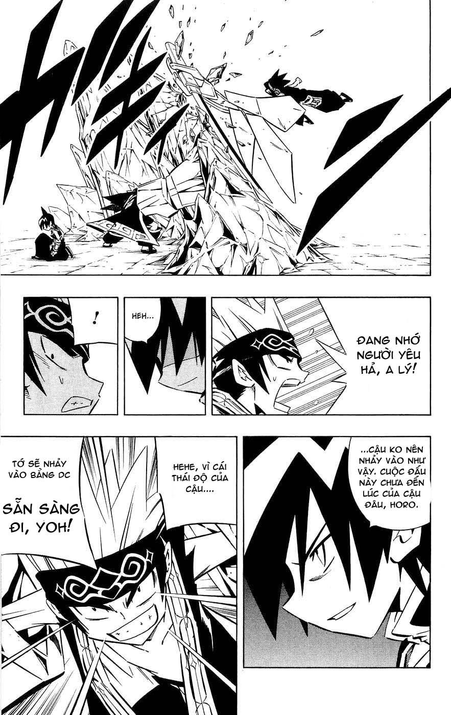 Shaman King [Vua pháp thuật] chap 256 trang 13