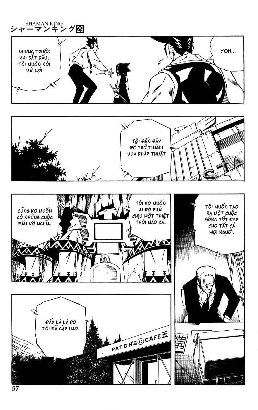 Shaman King [Vua pháp thuật] chap 253 trang 11