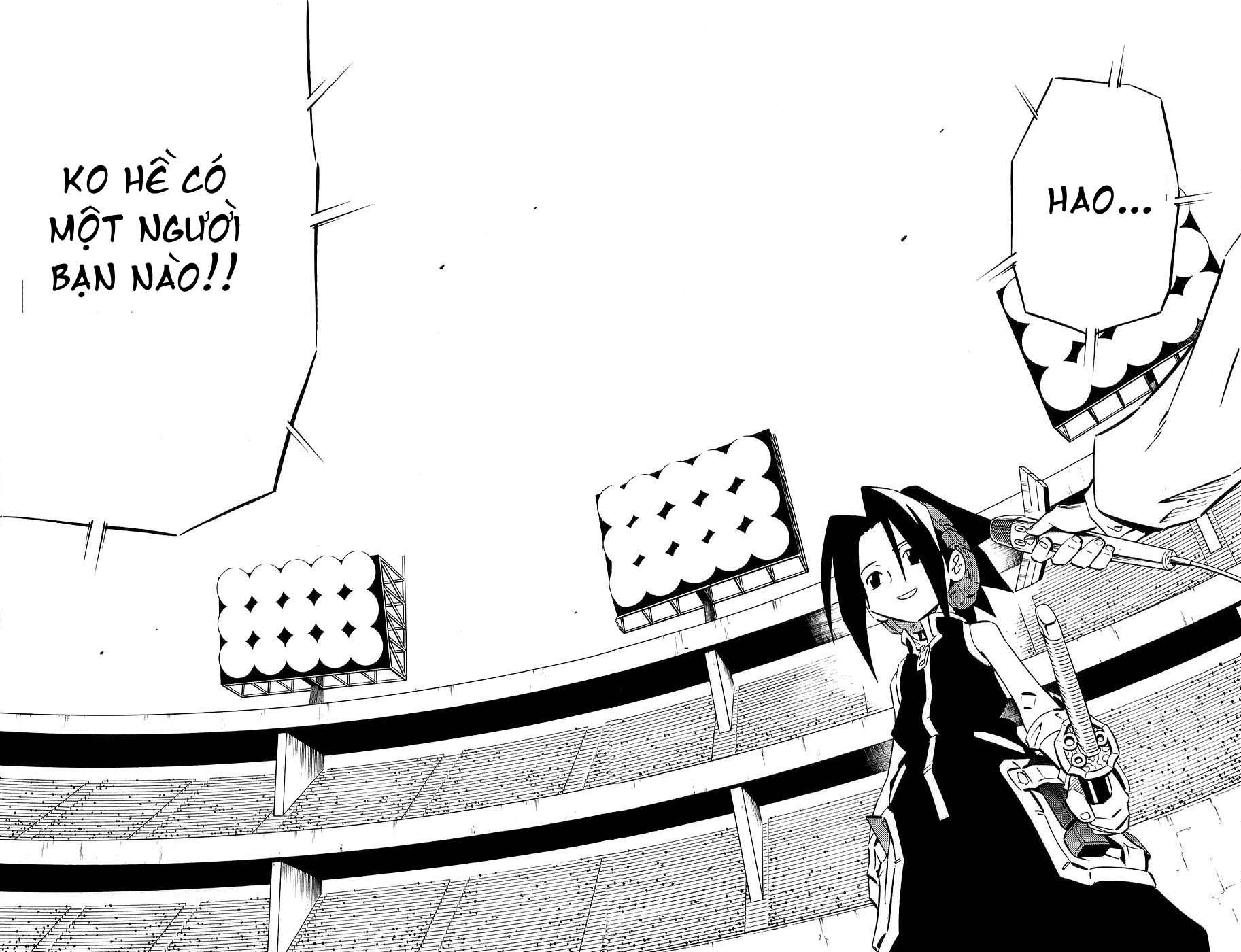 Shaman King [Vua pháp thuật] chap 253 trang 12