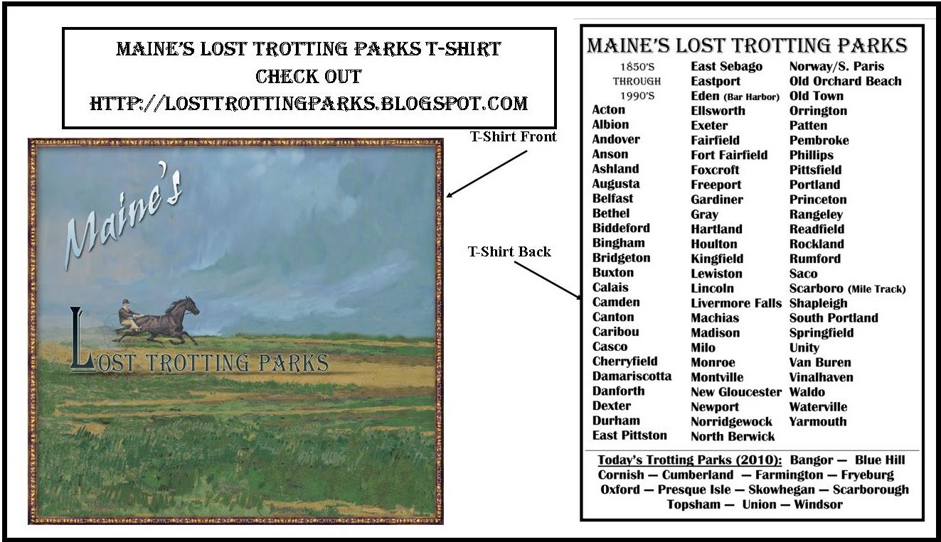 Lost Trotting Parks T-Shirt (Natural)