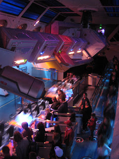 Space Mountain Launching Area