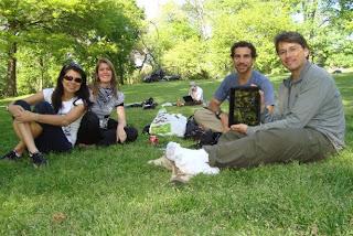 Piquenique no Central Park