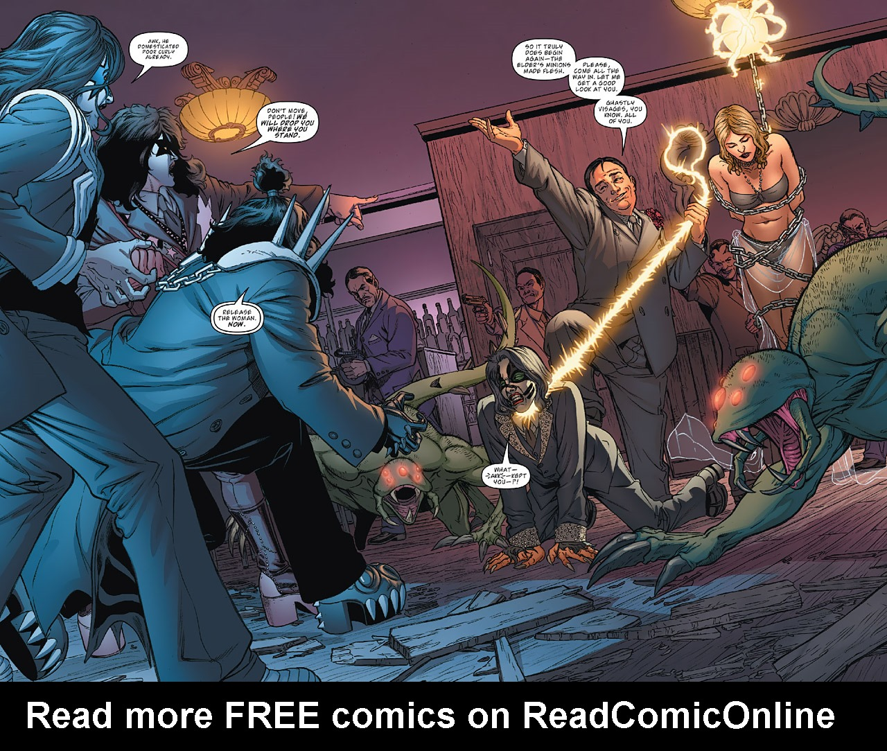 Read online KISS (2012) comic -  Issue #1 - 23