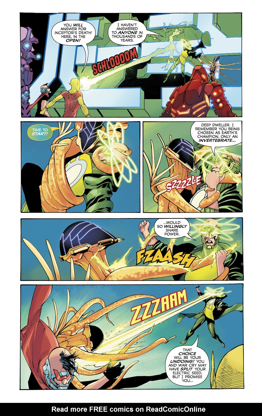 Read online Electric Warriors comic -  Issue #5 - 17