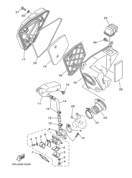Yamaha 125zr Engine Diagram