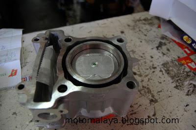 MotoMalaya: Yamaha LC 135 Racing Engine Block 58 5mm