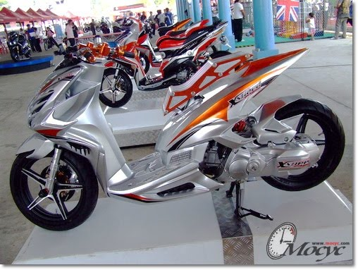 Motorcyle Thailand: Yamaha Mio 125 Modified By X-Speed In