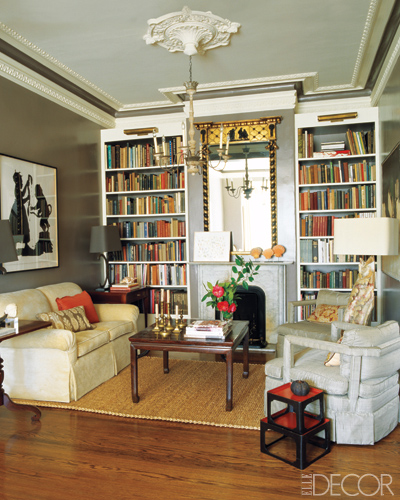 Elle Decor Bookshelves: Inspire & Charm: Bookshelves