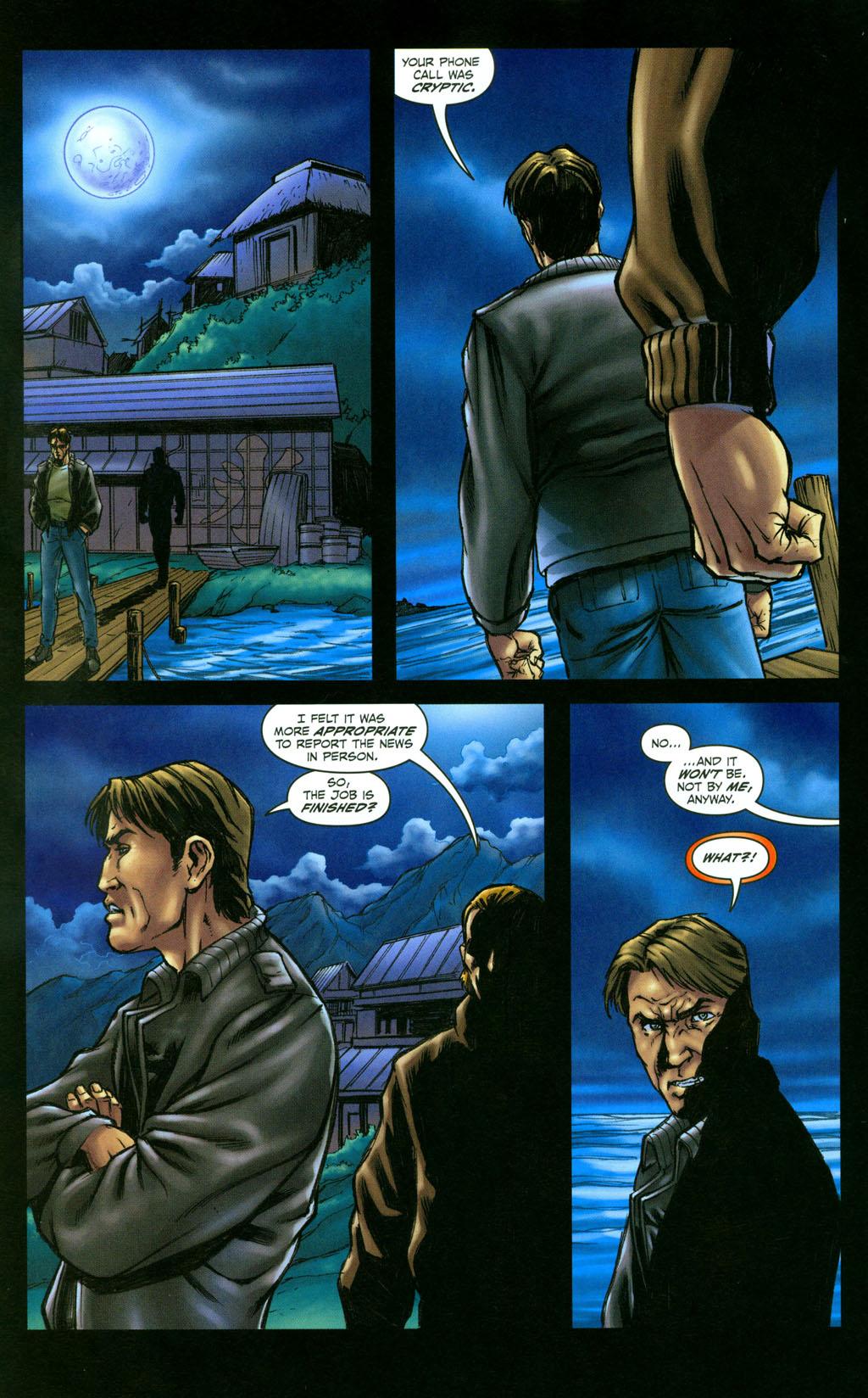 Read online Snake Eyes: Declassified comic -  Issue #4 - 21