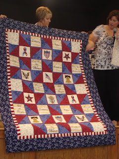 Wing And A Prayer Design Speakers At Konza Prairie Quilt