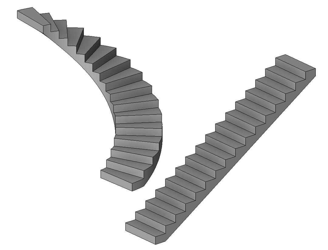 Ajouter Des Contre Marche Escalier 3dho - revit: les escaliers : trucs et astuces