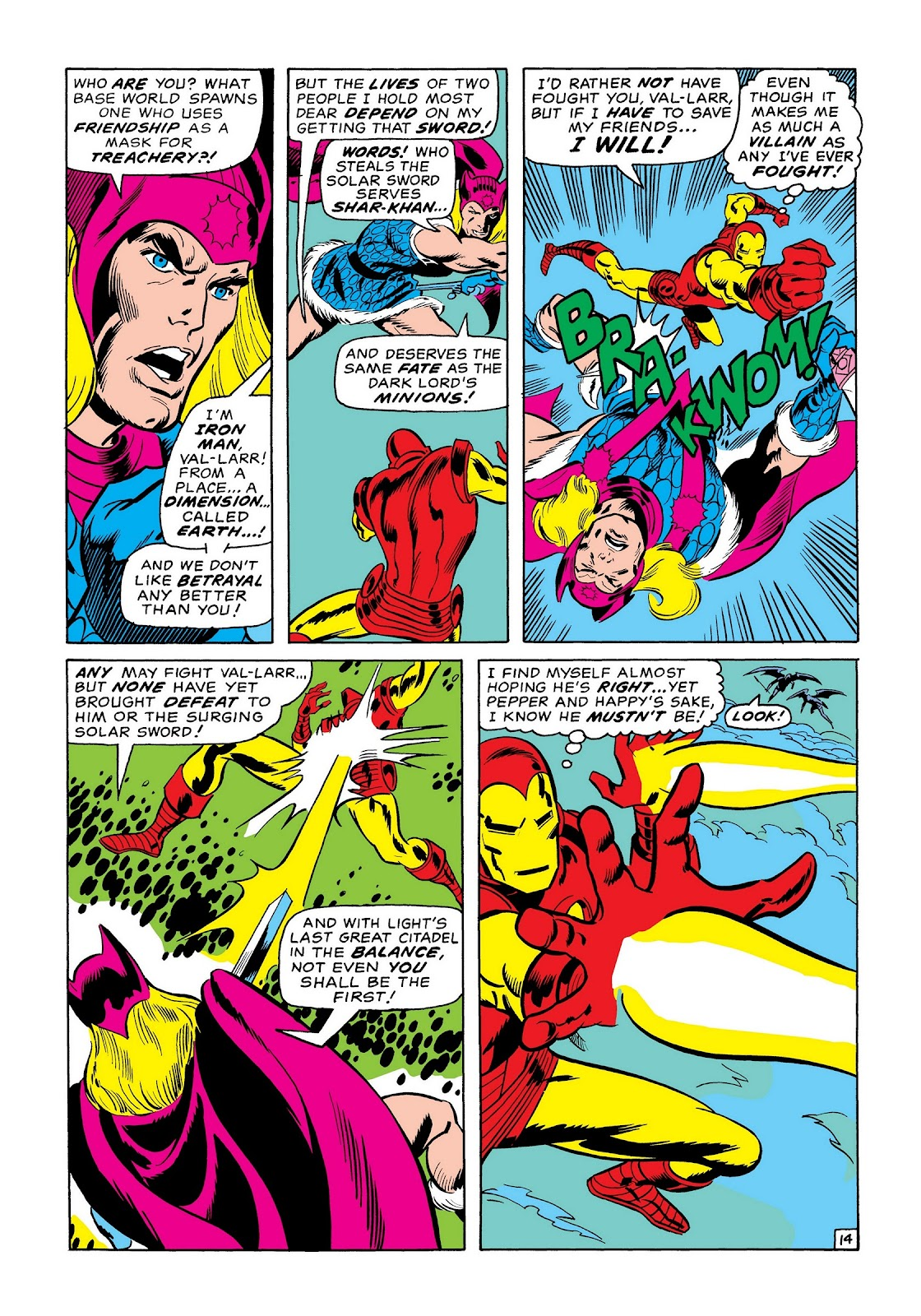 Read online Marvel Masterworks: The Invincible Iron Man comic -  Issue # TPB 7 (Part 1) - 22