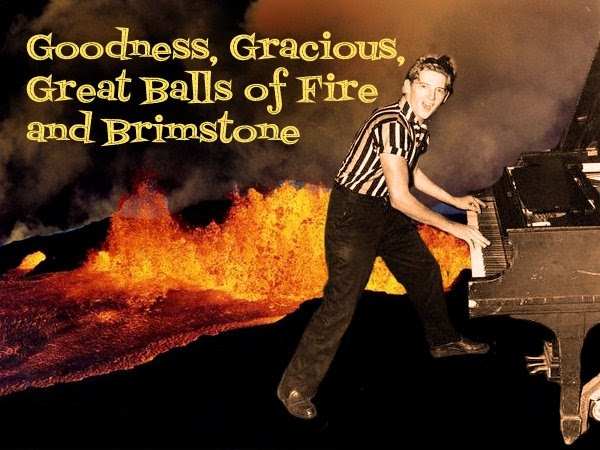 Enlightone: Goodness, Gracious, Great Balls Of Fire And Brimstone